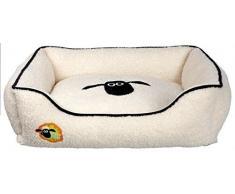 Trixie Shaun la oveja angular perro cama, 65Â x 50Â cm, color crema