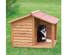 Trixie Caseta madera Natura, con porche, 130×100×105 cm