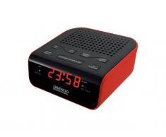 Daewoo DCR46 ROJO Radiodespertador