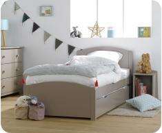Pack cama NATURE Lino +colchón AirFresh + Somier