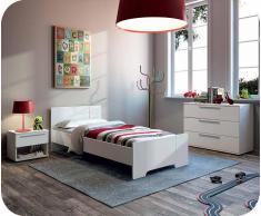 Dormitorio juvenil Jazz Blanco