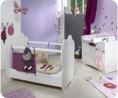 Mini dormitorio ALTEA Blanco Colchón incluido