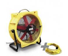 TROTEC Ventilador TTV 4500 HP + Cable de extensión profesional 20 m / 230 V / 2,5 mm²