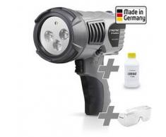 TROTEC Linterna UV-TrackMaster + Gafas de protección + Luminat