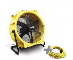 TROTEC Ventilador TTV 7000 + cable de extensión profesional 20 m / 230 V / 2,5 mm²