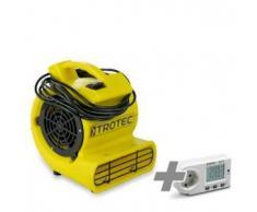 TROTEC Ventilador turbo TFV 10 S + Medidor de consumo energético BX11