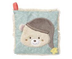 Fehn 060515 - Cojín de huesos de cereza con bolsa de calor y frío extraíble para bebés y niños pequeños (ayuda en dolores de cabeza, tensiones, abolladuras y mucho más), multicolor
