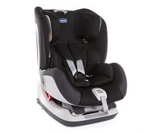 Chicco Seat up 012 Silla de coche isofix grupo 012 (0-25kg) con reductor, color negro (Jet Black) Silla de coche grupo 0+/1/2, Color Jet Black