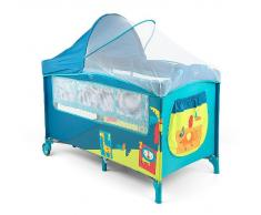 Milly Mally 2732 Viaje Mirage Deluxe Cama Infantil, color azul