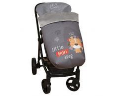 Babyline Lion - Saco de silla con cubre arnés de regalo.
