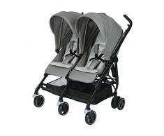 Bébé Confort DANA FOR2 Nomad Grey - Silla de paseo gemelar, color gris