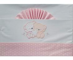 Duffi Baby 0728-06 - Sábana ositos y estrella, algodón, minicuna
