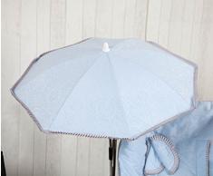 Babyline Bombón - Sombrilla para silla de paseo, color azul