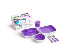 Platos Twistshake 78162 color morado