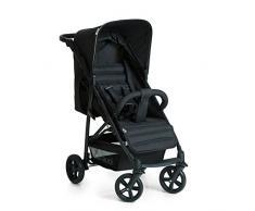 Hauck Rapid 4 Silla deportiva con respaldo reclinable para Bebés, desde nacimiento hasta 15 kg/4 años, Capacidad de carga 25 kg, Negro (Caviar/Silver)