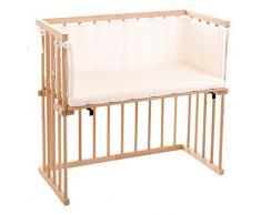 dreamgood – 135131 auxiliar cama haya con colchón Prime Air y nido, color marrón