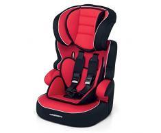 Foppapedretti Babyroad, Silla de coche grupo 1/2/3, Rojo