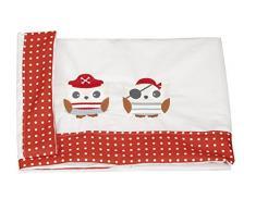 Babyline Piratas - Conjunto de sábanas de minicuna