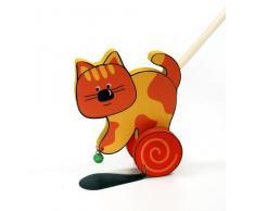 Hess 14433 - Juguete de madera para montar, diseño gato