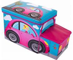 Bieco 04000512 asiento banco con baúl de almacenamiento integrado en diseño de Cutie aproximadamente 55 x 26,5 x 31,5 cm