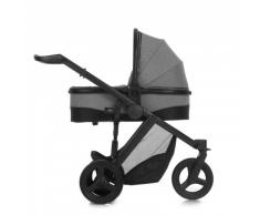 Hauck Maxan 3 Plus Trio Set - Carro deportivo 3 piezas de capazo, sillita y Grupo 0+ apto para base Isofix para recién nacidos hasta bebes / niños de 15 kg, color beige