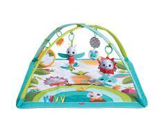 Tiny Love Gymini Sunny Day Gimnasio para bebes, Manta de actividades para el desarrollo con divertidos juguetes musicales, 3 melodias, Meadow Days