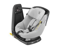 Maxi-Cosi Axissfix Silla de coche giratoria 360° isofix, Silla auto reclinable y contramarcha para bebés 4 meses - 4 años, color Authentic Grey