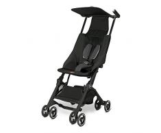 Gb Pockit - Silla de paseo (0-17 kg, 6 meses-4 años), color Monument Black [Colección 2016]