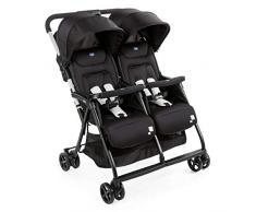 Adaptador silla auto para gemelar color negro para reci/én nacidos hasta 13kg apto para Grupo 0+ Comfort Fix Hauck Duett 2 transforma a la silla gemelar Duett 2 en un kit practico para viajes
