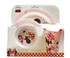Minnie Mouse 18849 - Juego de vajilla set