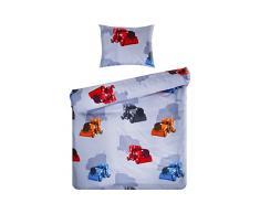 Home De colour azul 100000128666 bebé juego De ropa De cama, 100 x 135 cm