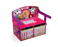 Delta Children TB83364PW - Banco de almacenamiento y escritorio, unisex