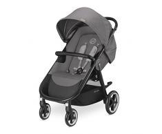 Cybex Agis M-Air 4 - Silla de paseo (desde el nacimiento hasta 17 kg), color Manhattan grey