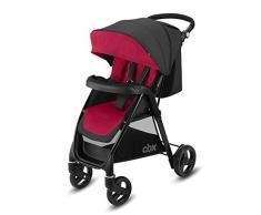 Cbx Misu - Silla de paseo, incluye cubierta para lluvia, desde el nacimiento hasta los 15 kg, Crunchy Red