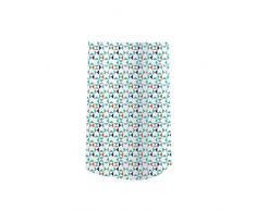 Angelcare Dress Up-Falda para Jardinera decorativa, diseño de tema geométrico, multicolor