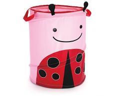 Skip Hop Zoo Ladybug - Cesto de almacenamiento