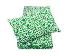 Pepi Leti 685843715764 - Juego de funda nórdica y funda de almohada para cama infantil, diseño de abeto, multicolor