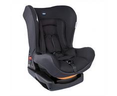 Chicco Cosmos Silla de coche grupo 0+1 (0-18kg) con reductor, color negro (Jet Black) Silla de coche grupo 0+/1, Color Jet Black