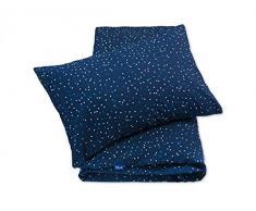 Pepi Leti 685843715603 - Juego de cama infantil (gran calidad), diseño de cielo estrellado, multicolor
