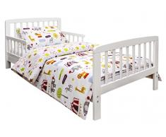 Kinder Valley - Juego de ropa de cama infantil, diseño de circo