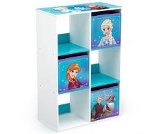 Delta Children Frozen - Organizador de juguetes, unisex