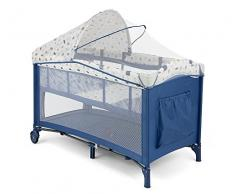 Milly Mally 2527 Viaje Mirage Deluxe Cama Infantil, color azul