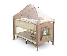 Milly Mally 1988 viaje Mirage Deluxe Cama Infantil, color beige