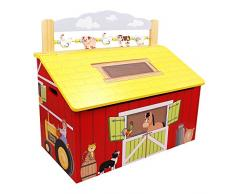 Cofre de madera para juguetes Happy Farm de Fantasy Fields TD-11326A