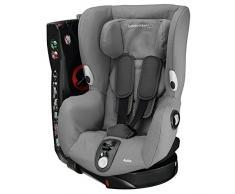 Bébé Confort Axiss Silla infantil giratoria para coche del grupo 1, ajuste extraseguro, reclinable, 9 meses - 4 años, 9 - 18 kg, gris (Concrete Grey)