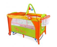Milly Mally 1292 Viaje Cama Infantil Mirage Deluxe, Gris