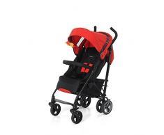 Foppapedretti Hurra - Silla de paseo ligera y compacta, color rojo