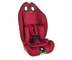 Chicco Chicco Gro Up 123 - Silla de coche grupo 123 (9-36kg) con reductor, color rojo (Red Passion) - Silla de coche grupo 1/2/3, Color Red Passion