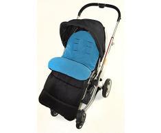 Saco/Cosy Toes Compatible con Huevo silla de paseo Tandem Cochecito océano azul