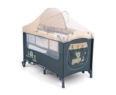 Milly Mally 1971 Viaje Mirage Deluxe Cama Infantil, color azul